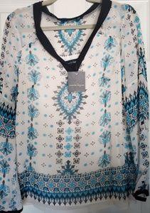 Nanette Lepore Silk Top Blouse